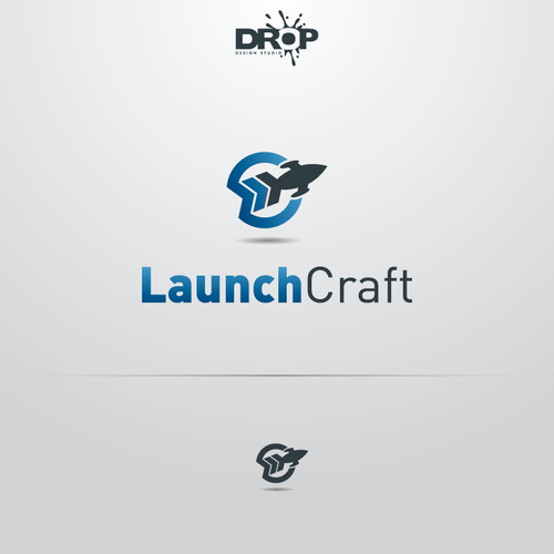 Create a logo for new brand LaunchCraft which helps start-ups get off the ground