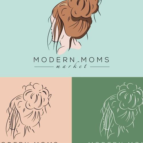 Modern logo for online store