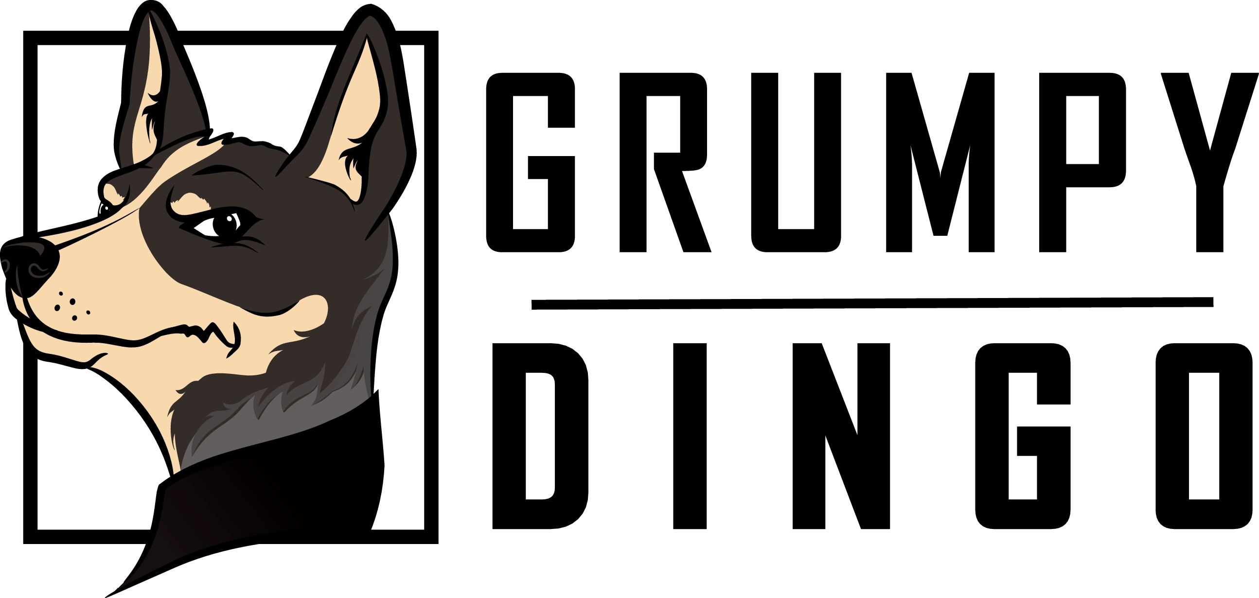 Grumpy Dingo Logo