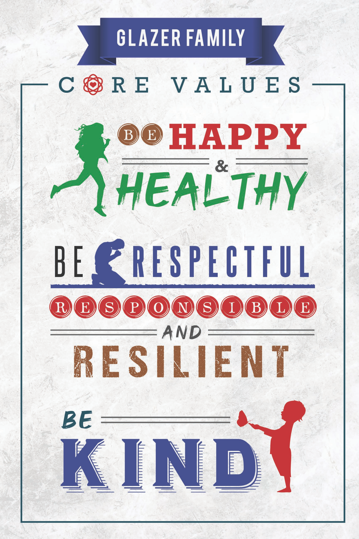 Core Values poster
