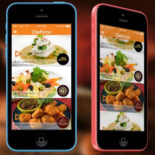 CHEFTIME iOS App