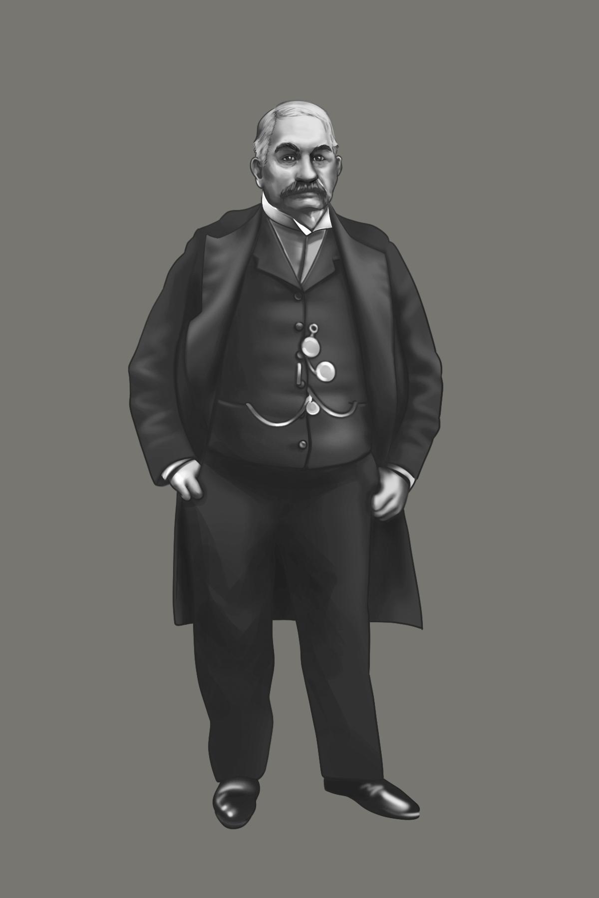 19th Century Entrepreneurs Portraits