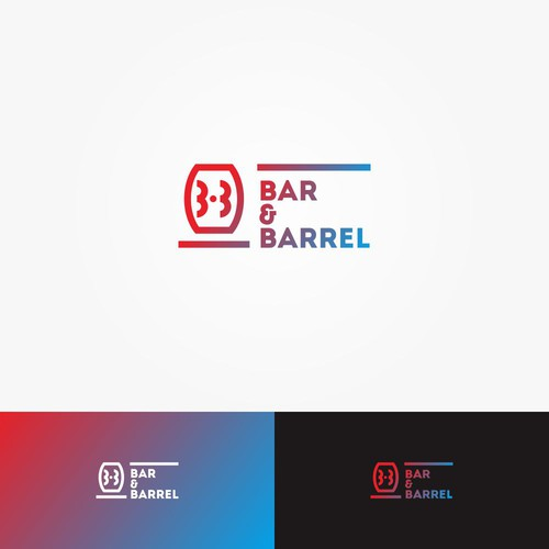 Logo concept for Bar & Barrel