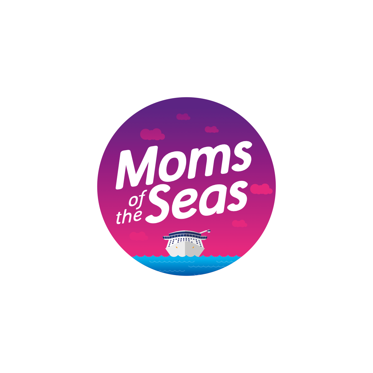 Design logo for new Royal Caribbean Blog Moms Group