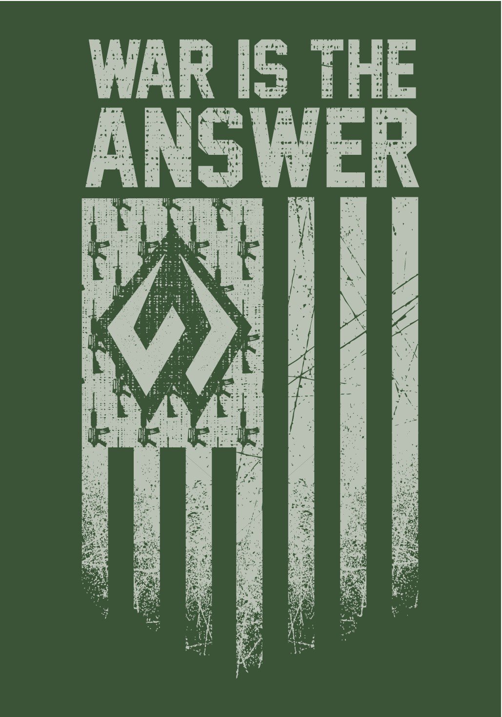WAR IS THE ANSWER T-SHIRT | WARPATH CO.