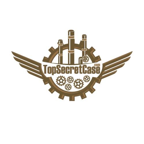 STEM PUNK logo for TopSecretCase.com
