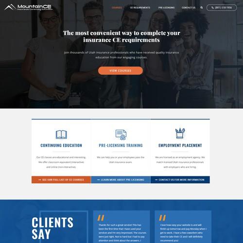 MountainCE Homepage