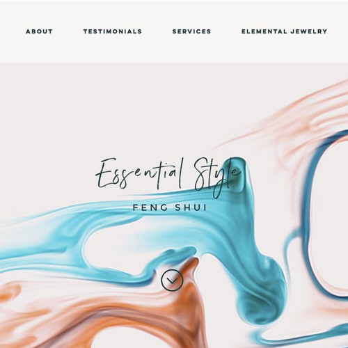 Hosted website design (Wix) for Essential Style Feng Shui