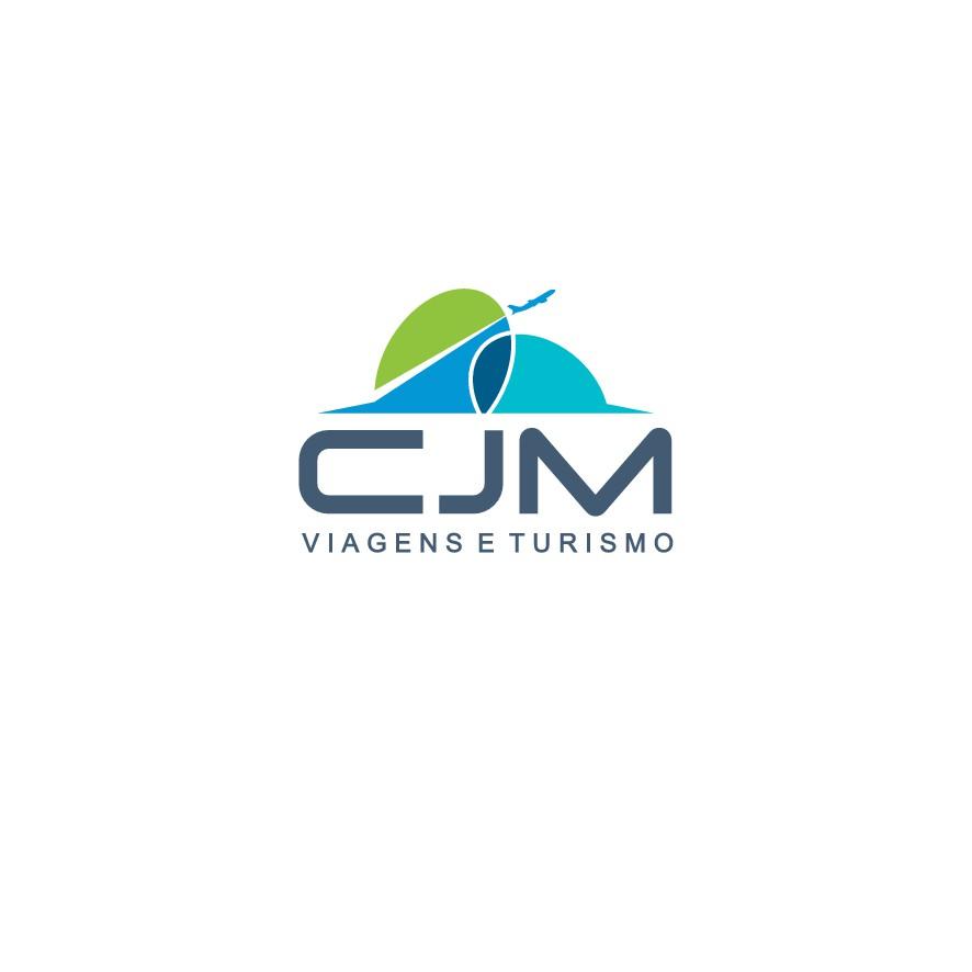 Crie um logotipo para a CJM Agência de Viagens e Turismo