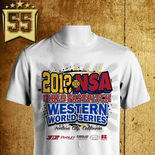 Create the next logo for 2013 NSA Girls Fastpitch Western World Series