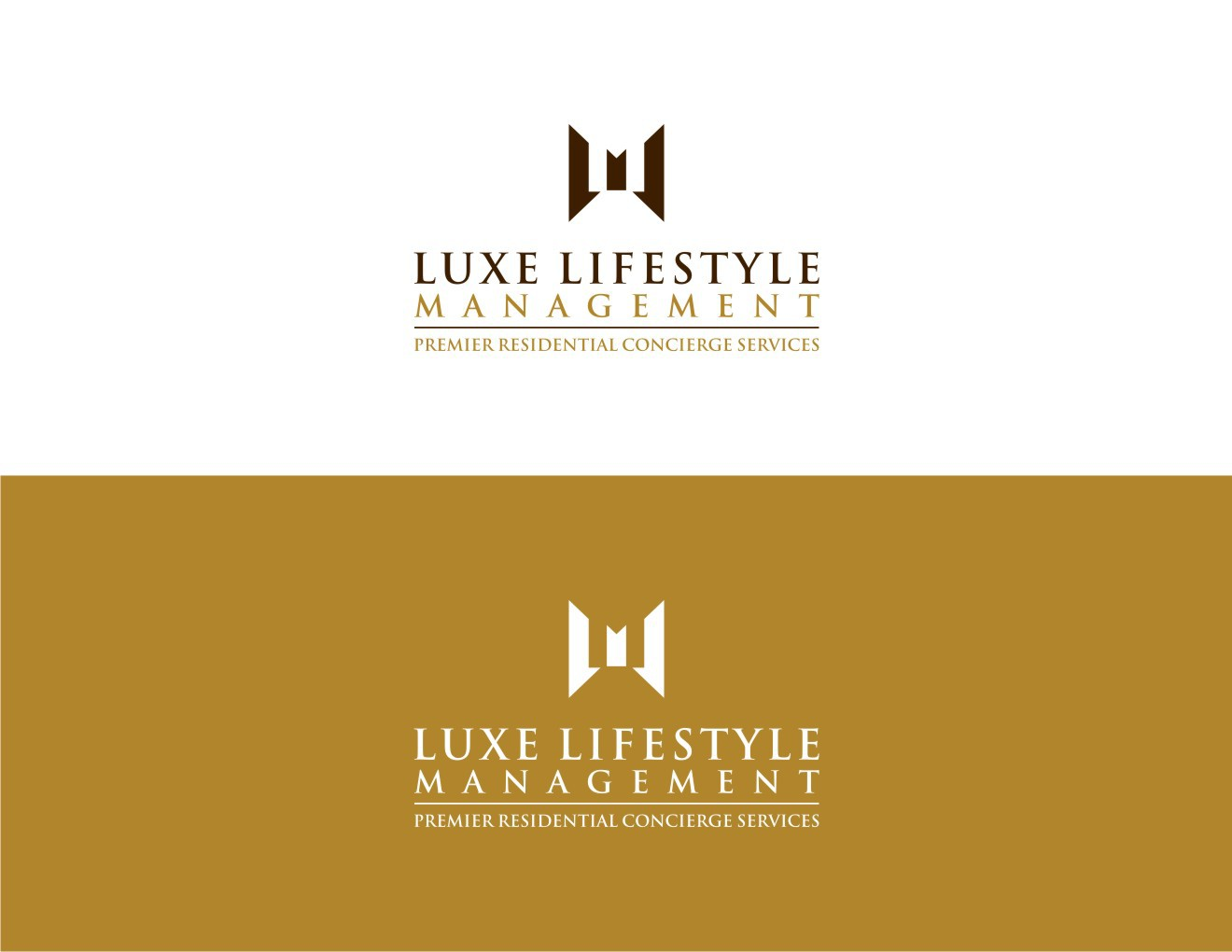 Create a sophisticated and elegant logo for a high end residential concierge service
