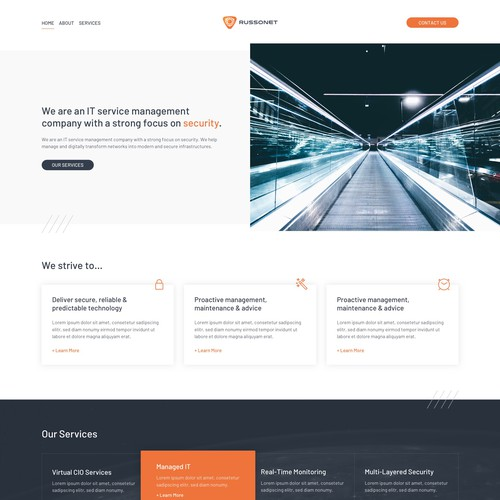 Russonet Web Design