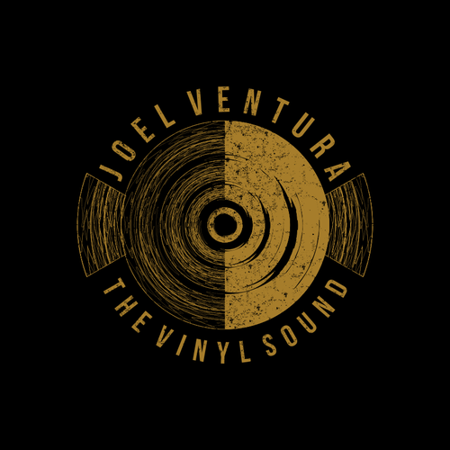 The Vinyl Sound Logo and Lettering (Music Artist)