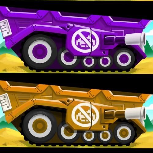 tanks Space Invaders