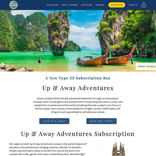Up and Away Adventures design