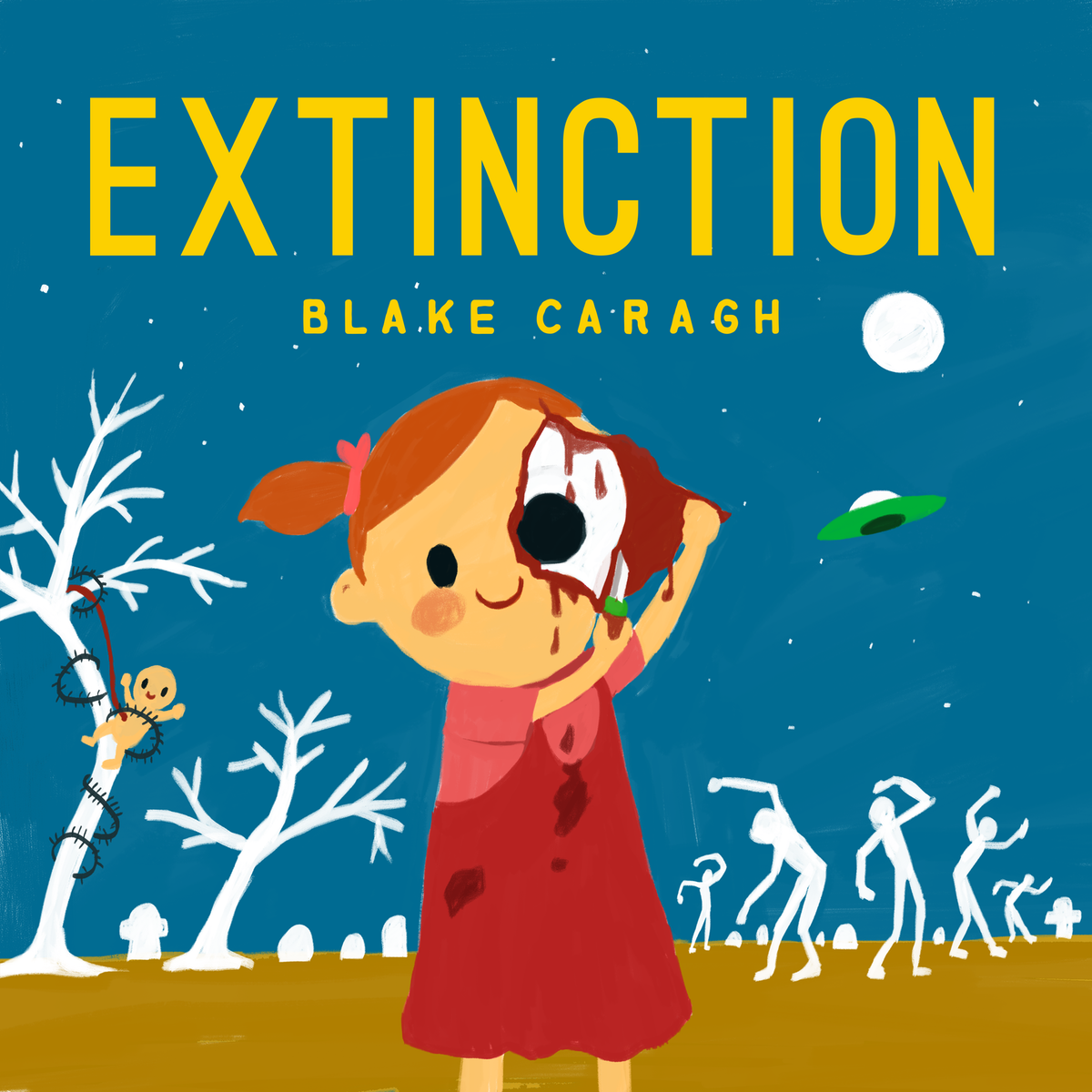 album art illustration (Extinction)