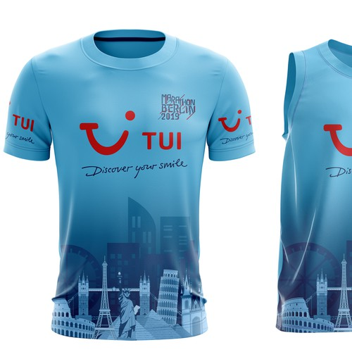 running shirt maratthon berlin 2019