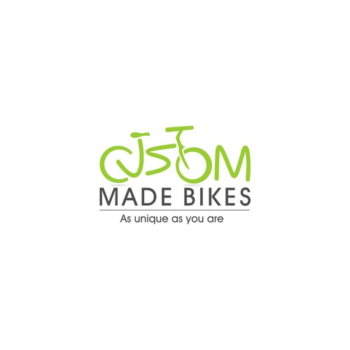 Logo for custom bike builders