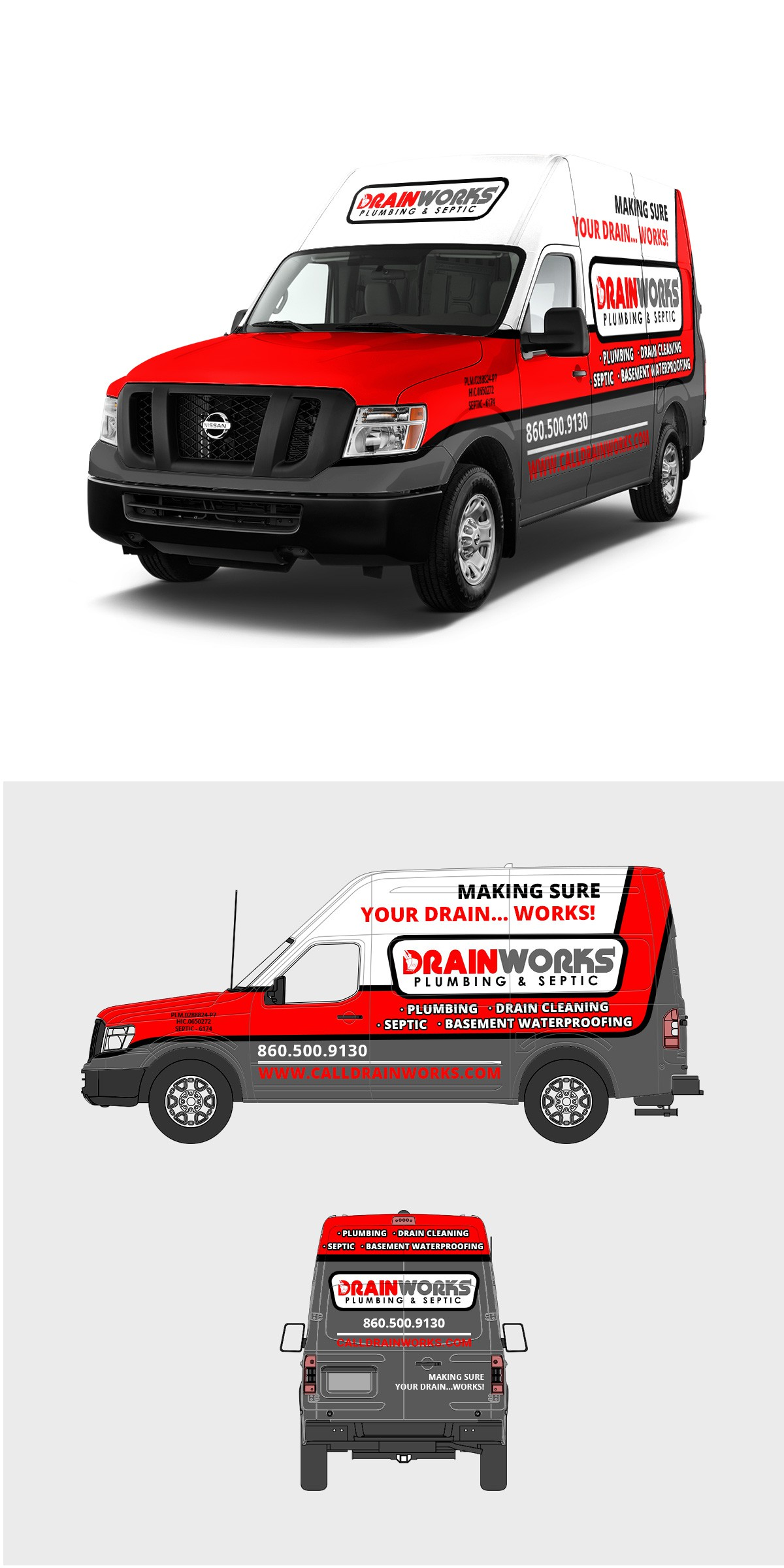 Bring me your creative and awesome!  I need a wrap designed for various vehicles and trailers.