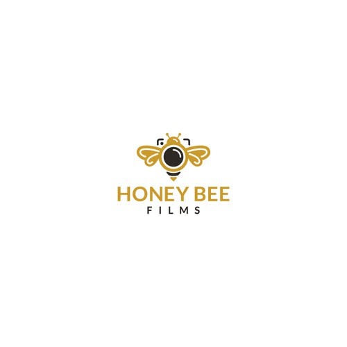 Bold logo concept for Honey Bee Films