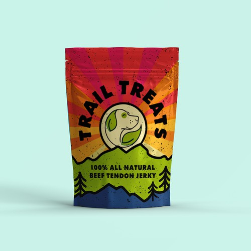 Packaging concept for natural dog treats