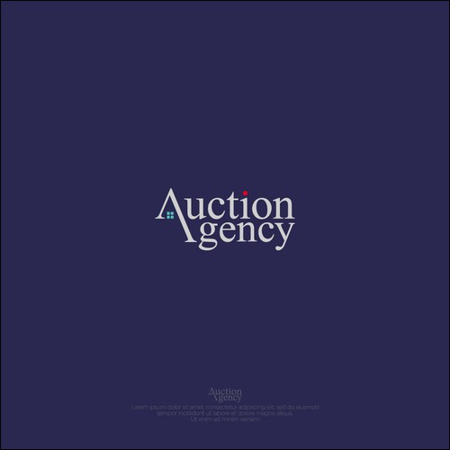 logo concept for AuctionAgency