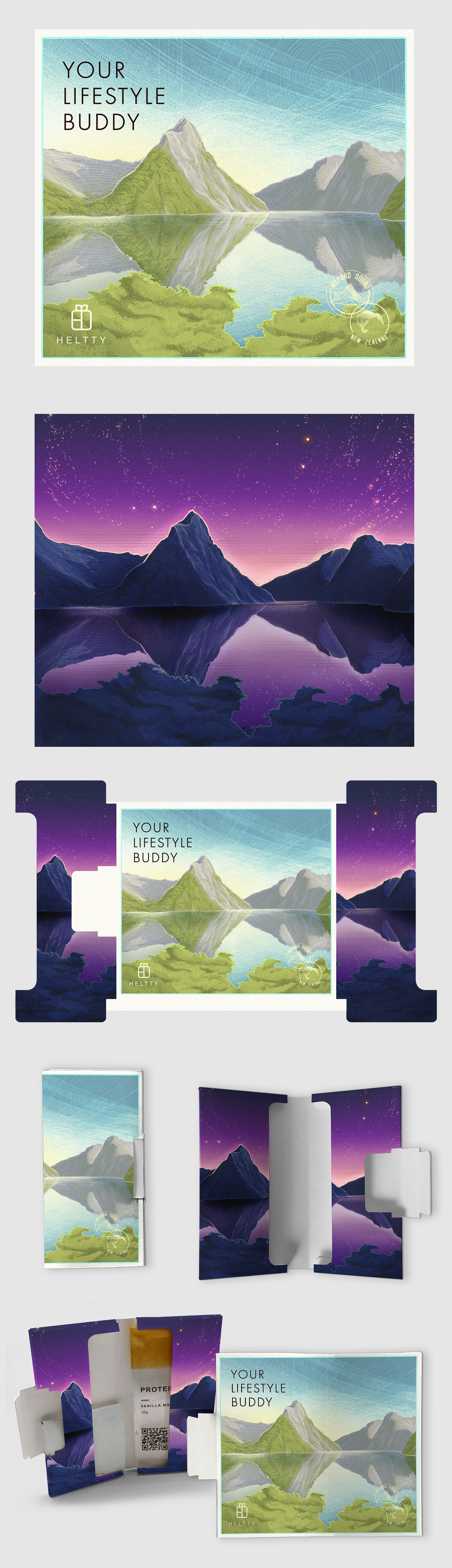Two Heltty landscapes