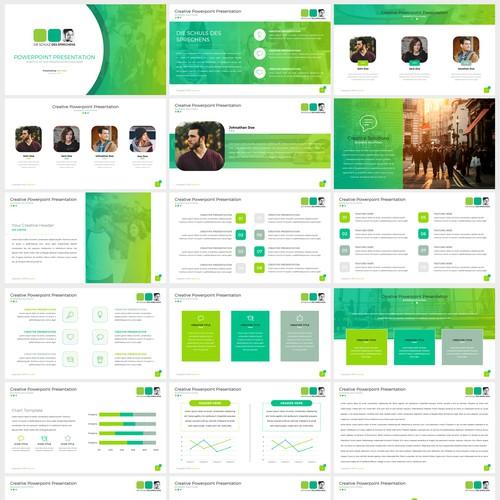Powerpoint Template for Die Schule Des Sprechens