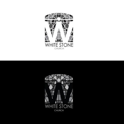 white stone logo