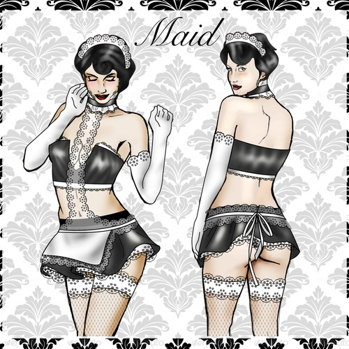 Naughty bedroom costume design contest prize $200 and $5000 contract