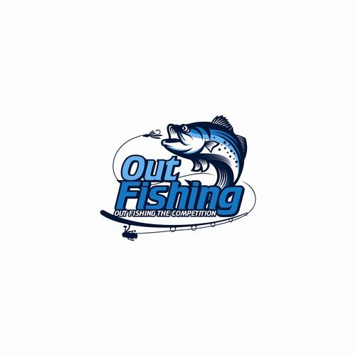 Design Fun Catchy Fishing Show Logo