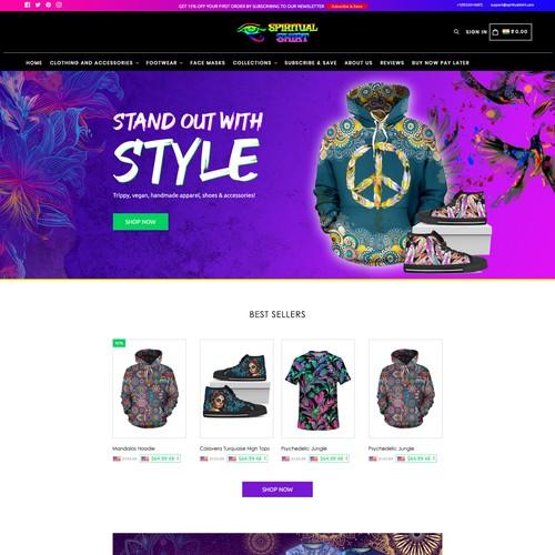 Jacket website
