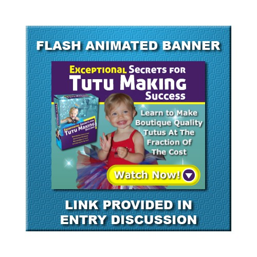 banner ad for Exceptional Secrets For Tutu Making Success