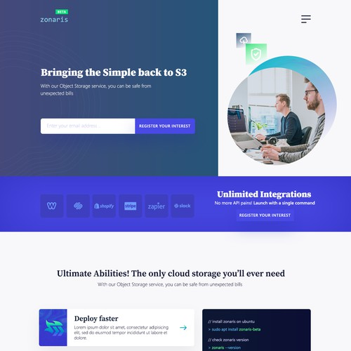 Landing Page contest entry