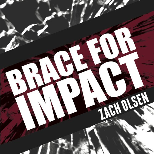 Brace For Impact book cover design