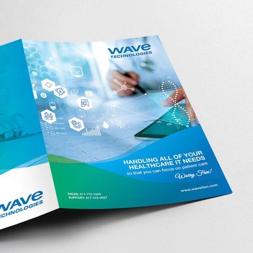 Brochure design for Wave Technology