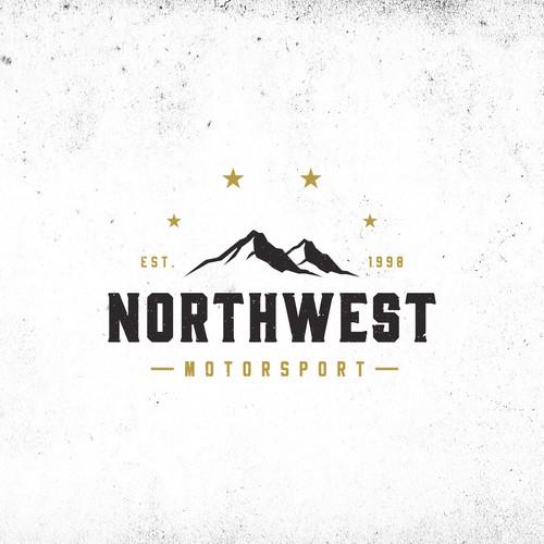 concept logo for northwest motorsport