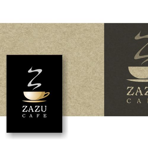 Zazu Cafe new logo design.