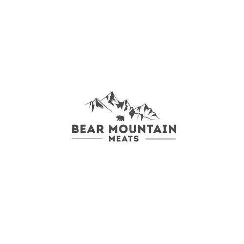 """logo For """"Bear Mountain"""""""