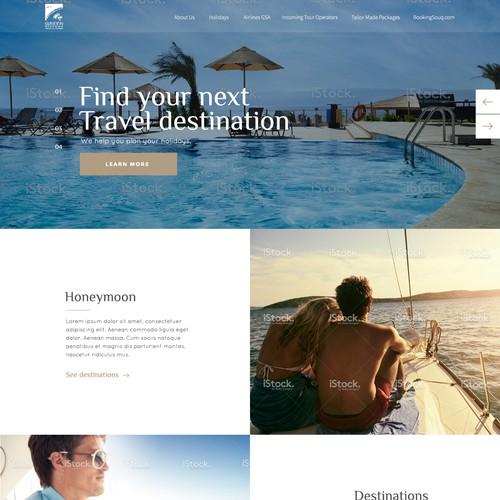 Design for Travel Company