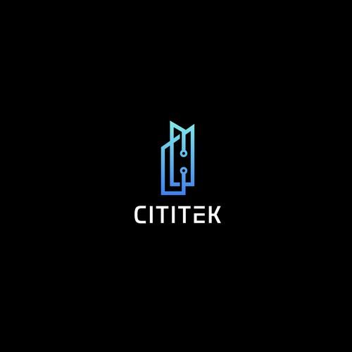 CITITEK Logo Design
