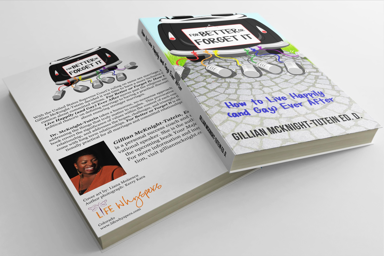 Creative Non-Fiction Book Cover for Same Sex Marriage Book