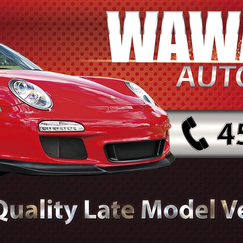 Create the next signage for Wawasee Auto Sales