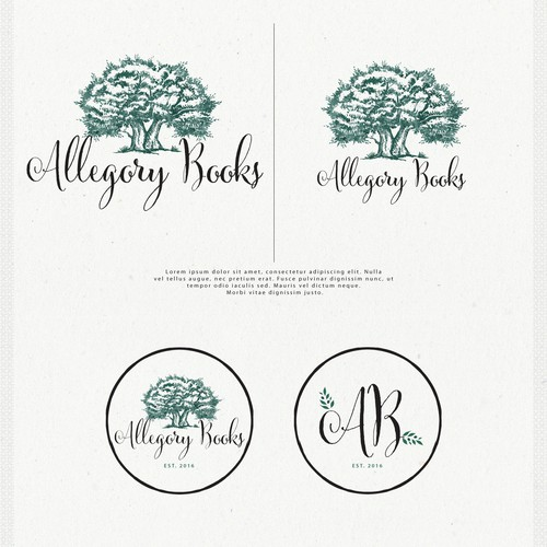 Logo Design for Allegory Books