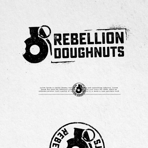 UNUSED PROPOSAL FOR REBELLION DOUGHNUTS