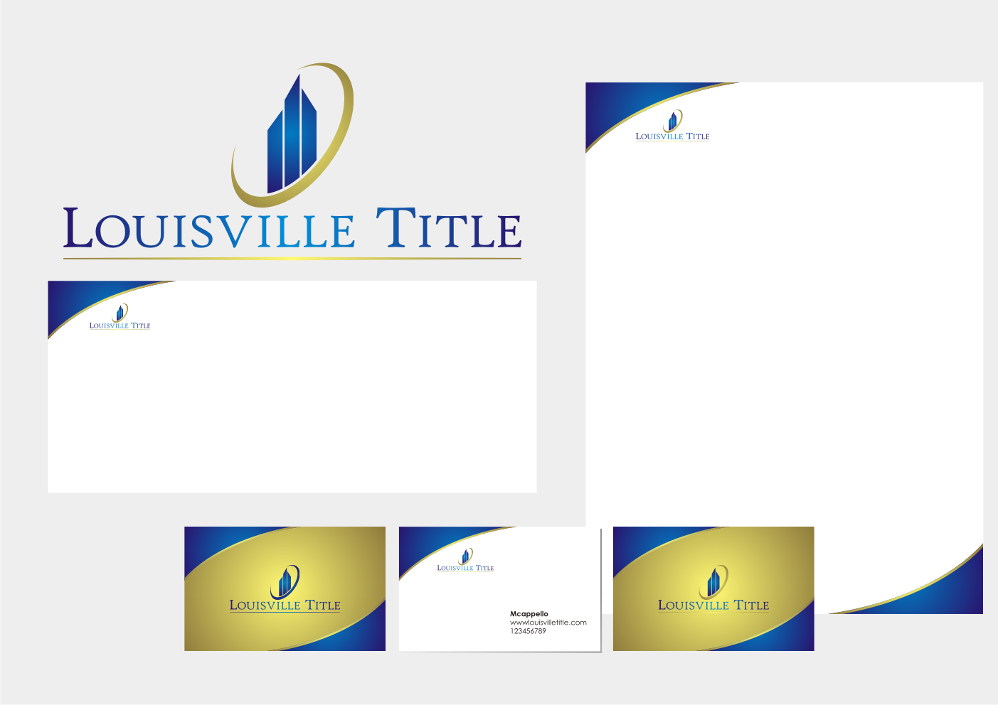 Create the next logo for Louisville Title