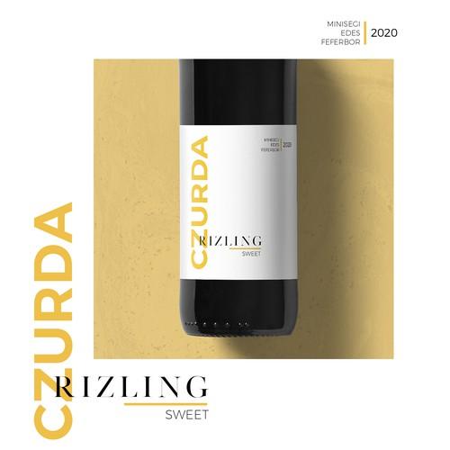 Czurda Rizling wine