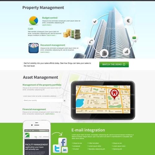 website design for Singu FM