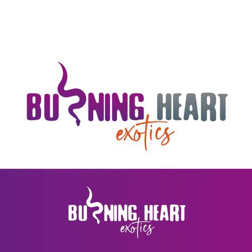 logo burning heart