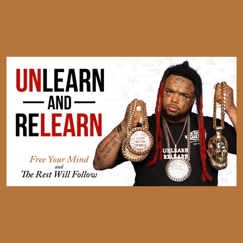Unlearn and Relearn Banner Ad